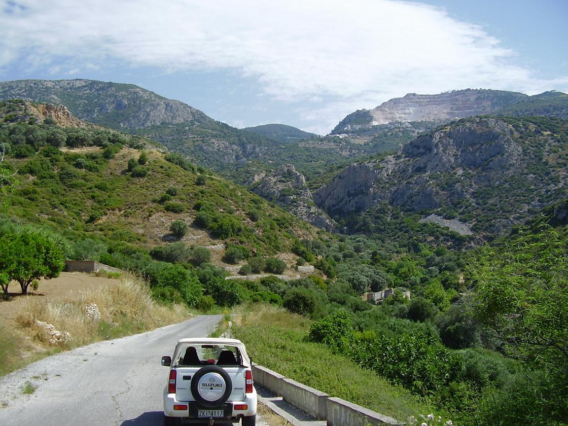 Autoverhuur Samos